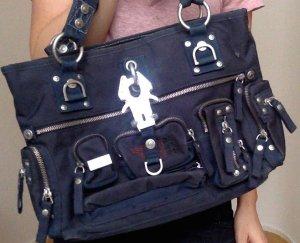 Blaue Tasche von George Gina & Lucy