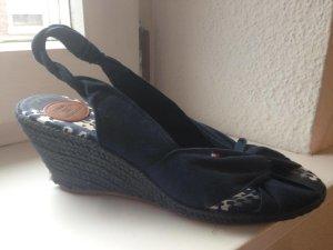 Blaue Tommy Hilfiger Sandalen