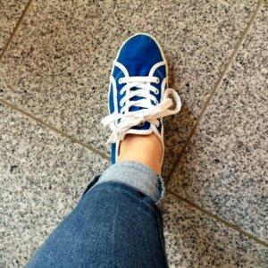 Blaue Tommy Hilfiger Schuhe