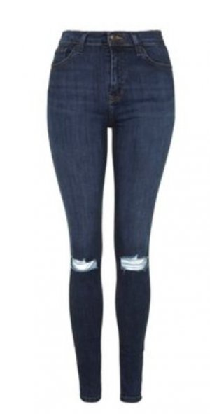 topshop high waist jeans g nstig kaufen second hand m dchenflohmarkt. Black Bedroom Furniture Sets. Home Design Ideas
