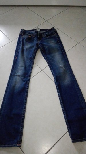 Blaue True Religion Jeans