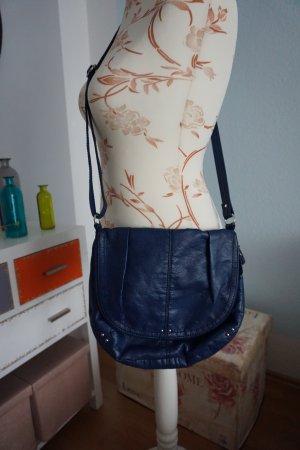 blaue Umhängetasche von H&M