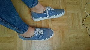 Blaue Vans Authentic Low