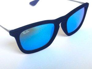 Blaue Velvet Ray Ban Sonnenbrille