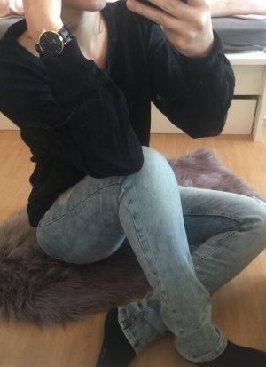 blaue verwaschene Jeans h&m 29