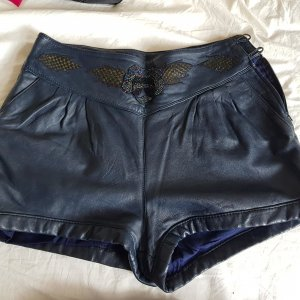 Hot Pants multicolored leather