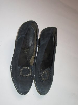 Vintage Mary Jane pumps donkerblauw