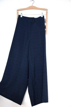 """blaue Vintage """"reworked"""" Culottes Hose"""