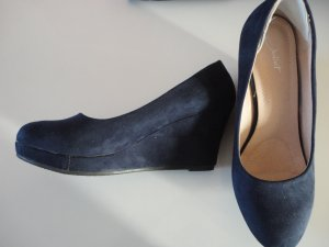 Blaue Wedges in Gr. 39
