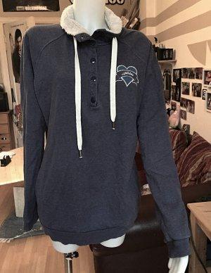 Blauer Adidas Pullover sehr weich L