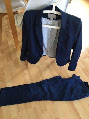 Blauer Anzug von H&M