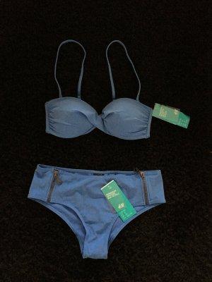 Blauer Bikini von H&M