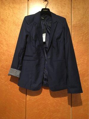 Vero Moda Blazer de tela de sudadera azul oscuro-azul claro