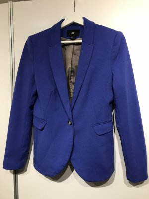 H&M Blazer sweat bleu