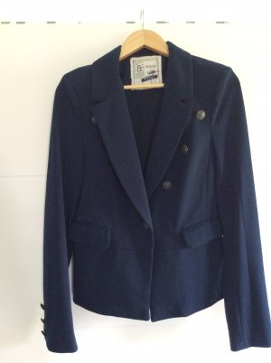 Sweat Blazer dark blue polyester
