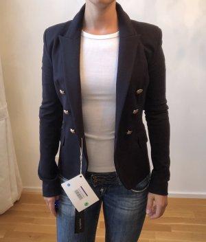 Anna Rita N Jersey Blazer dark blue