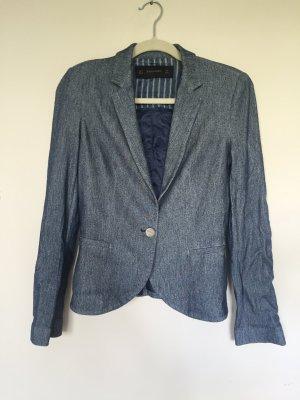 Blauer Blazer von Zara in Größe M