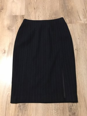 Mango Pencil Skirt dark blue
