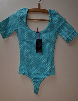 Melrose Shirt Body white-light blue