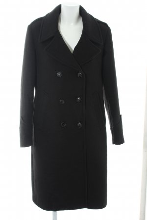 Blauer Heavy Pea Coat black elegant
