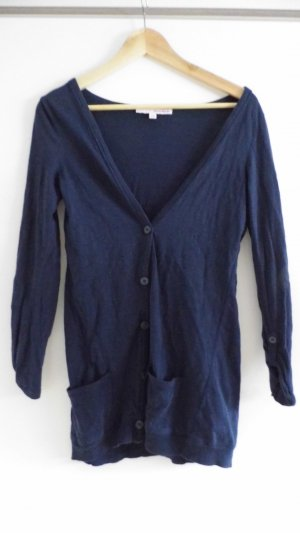 Tally Weijl Veste chemise bleu foncé-bleu coton