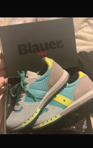 Blauer Lace-Up Sneaker multicolored