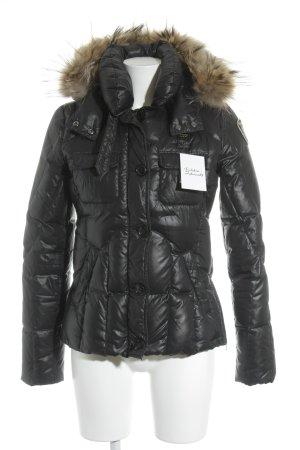 Blauer Down Jacket black athletic style