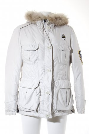 Blauer Down Jacket white casual look