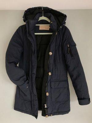 Down Coat blue