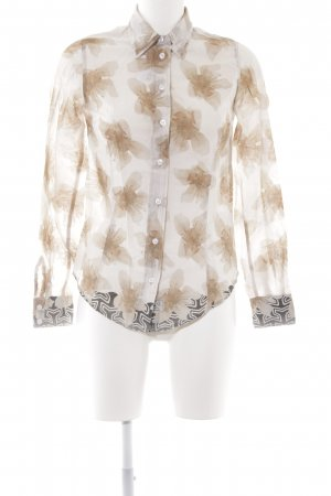 Blauer Shirt Blouse floral pattern casual look