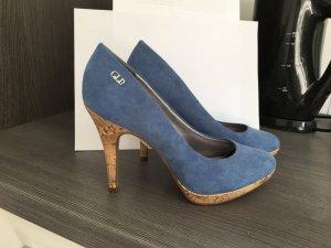 Blauer High Heel NEU !