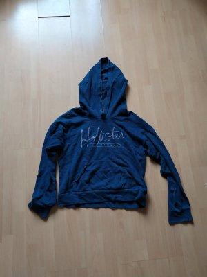 blauer Hollisterpullover