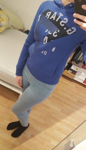 Blauer Hoodie Pullover von G-Star