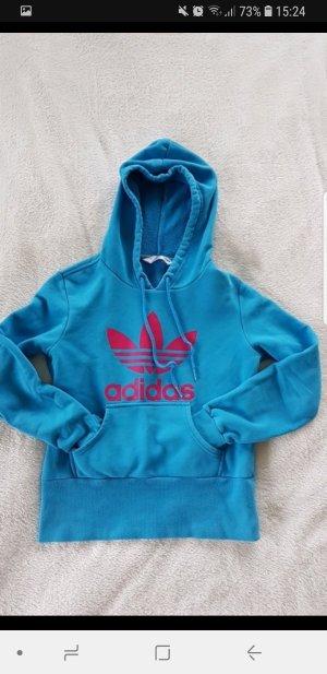 Blauer Hoodie von Adidas 34