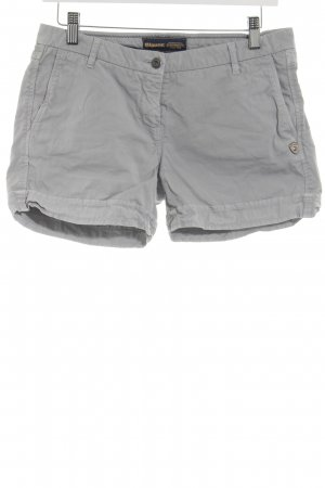 Blauer Hot Pants silberfarben Casual-Look