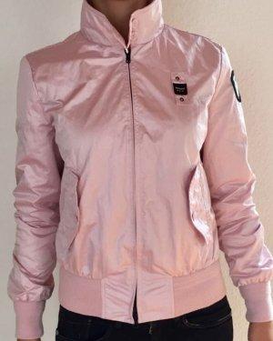 Blauer Chaqueta rosa claro