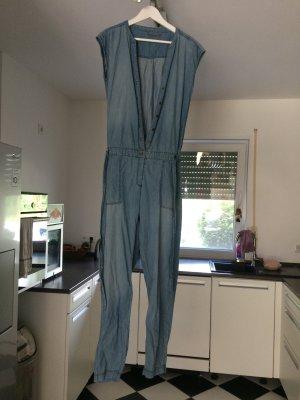 blauer Jeans Jumpsuit Gr.36/38