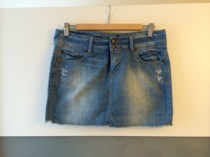 Blauer Jeans-Mini-Rock