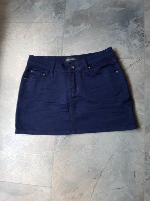 Spijkerrok blauw