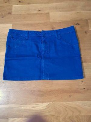 Blauer Jeansrock