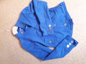 blauer Jerseyblazer