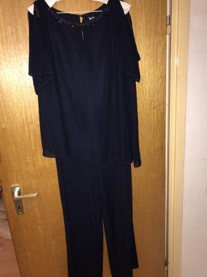 Vera Mont Traje de pantalón azul oscuro