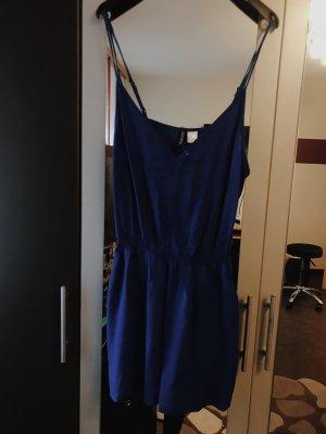 Blauer Jumpsuit