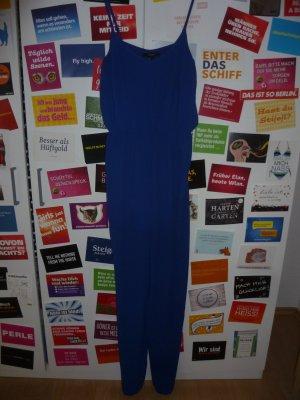 Blauer Jumpsuit von Forever 21, Overall, Einteiler, Königsblau, Sommer, Strand, Blogger, Oversize
