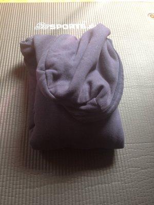 Blauer Kapuzenpulli mit fleece innen