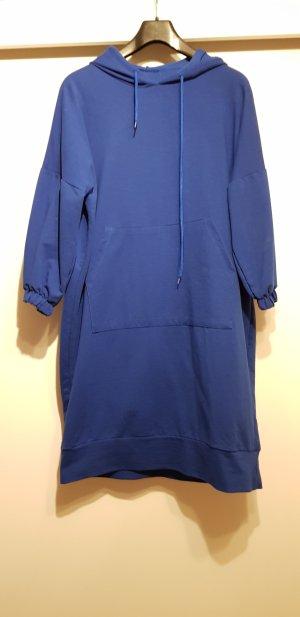 Abito maglione blu