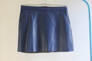 Promod Falda de cuero de imitación multicolor Poliuretano