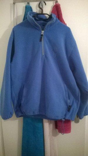 blauer Kuschelpullover Gr. L