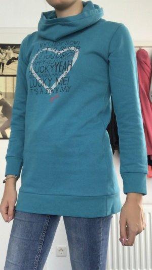 Blauer länger Pullover von Blue Seven in 164