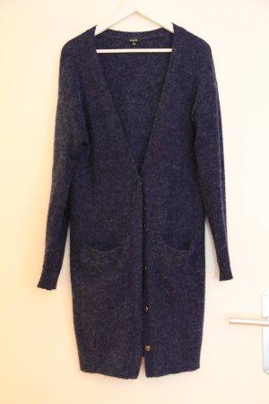 Blauer Lang- Cardigan